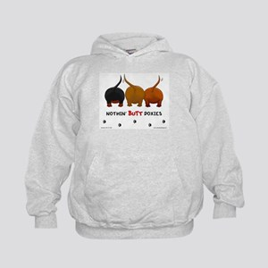 Nothin' Butt Doxies Kids Hoodie