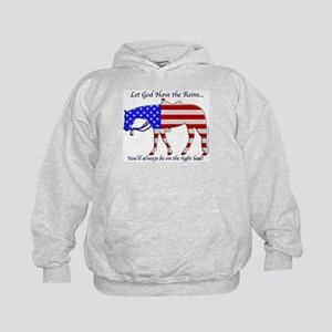 Let God have the Reins Kids Hoodie