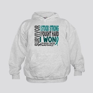 Survivor 4 Ovarian Cancer Shirts and Gifts Kids Ho