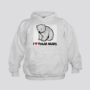 c8bb4f9e Polar Bear Kids Hoodies & Sweatshirts - CafePress