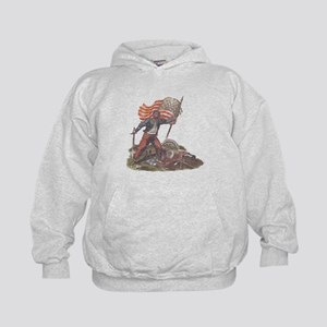 Civil War Patriot Kids Hoodie