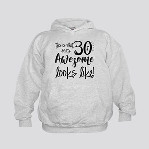Awesome 30 Year Old Kids Hoodie