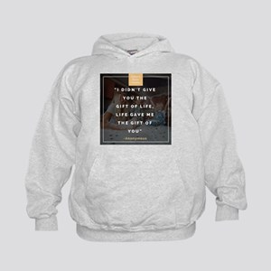 I didnt give you the gift of life Hoodie