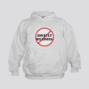 No assault weapons, gun control Hoodie