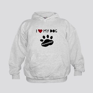 Personalized Dog Kids Hoodie