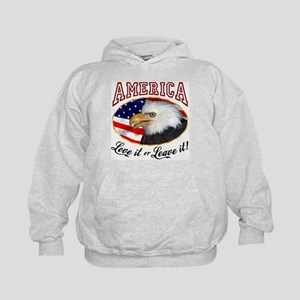 America - Love it or Leave it! Kids Hoodie