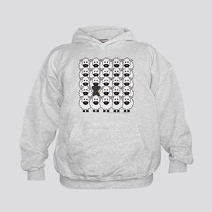 Beauceron and Sheep Kids Hoodie