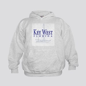 Key West Sailboat - Kids Hoodie