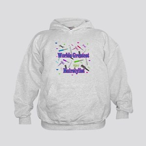 World's Greatest Hairstylist Kids Hoodie