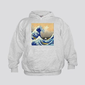 Great Wave Kids Hoodie