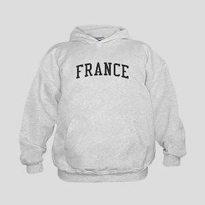 353f48843 PARIS University Kids Hoodie. $36.99. France Black Kids Hoodie