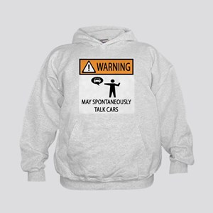 Car Talk Warning Kids Hoodie