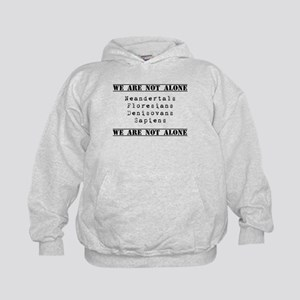 We Are Not Alone Kids Hoodie