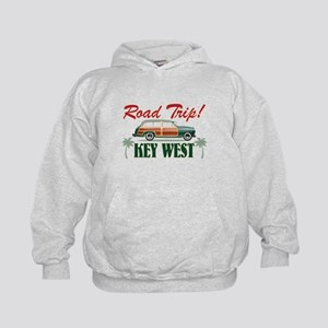 Road Trip! - Key West Kids Hoodie