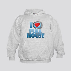 I Heart Full House Kid's Hoodie
