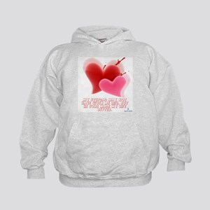Hearts - Made My Life Better Kids Hoodie