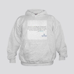 My hero, my stepdad - no image Kids Hoodie