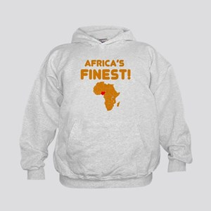 Nigeria map Of africa Designs Kids Hoodie