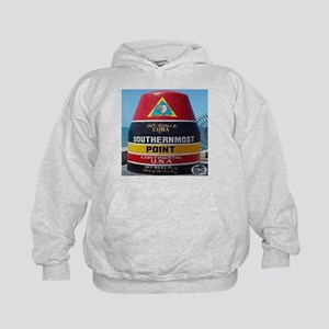 Key West Southern Most Point Monument Kids Hoodie