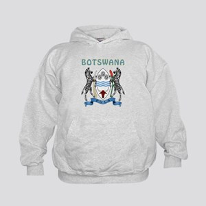 Botswana Coat of arms Kids Hoodie