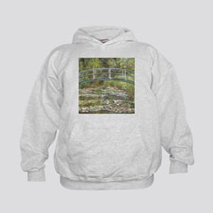 Monet Bridge over Water Lilies Hoodie