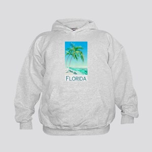 Florida Palms Kids Hoodie