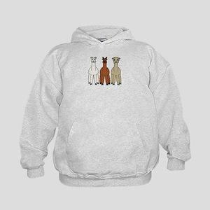 Alpaca (no text) Kids Hoodie