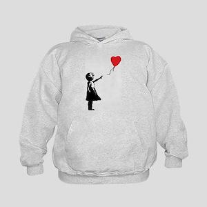 Banksy - Little Girl with Ballon Hoodie