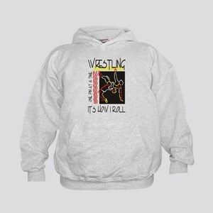 That's How I Roll Wrestling Kids Hoodie