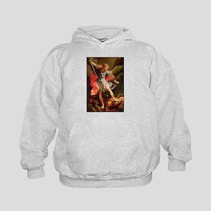 Archangel Michael Defeating Satan Sweatshirt