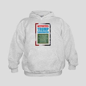 Trump Sandwich Kids Hoodie