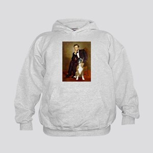 Lincoln & his Boxer Kids Hoodie