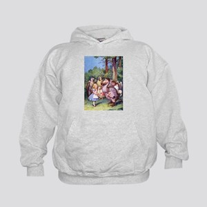 ALICE & THE DODO BIRD Kids Hoodie