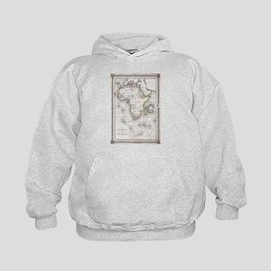 Vintage Map of Africa (1852) Sweatshirt