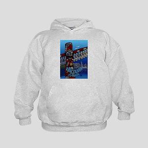 Vancouver Totem Souvenirs Sweatshirt