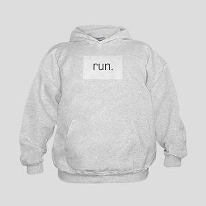 Run Kids Hoodie