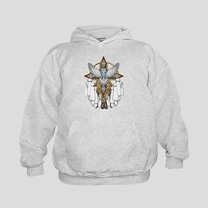 Snowy Owl Mandala Hoodie