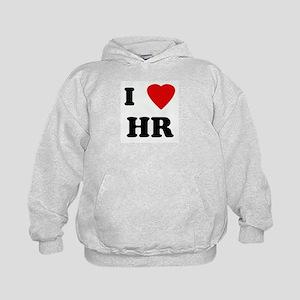I Love HR Kids Hoodie