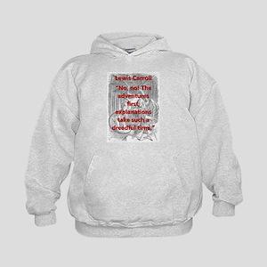 No No The Adventures First - L Carroll Sweatshirt