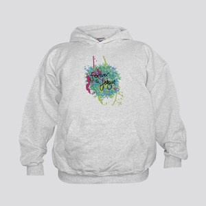 Forever a Fangirl Kids Hoodie