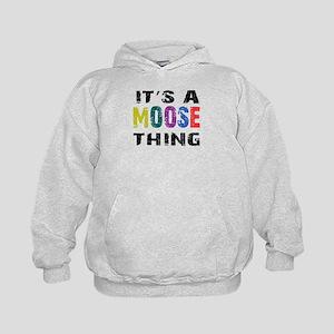 Moose THING Kids Hoodie