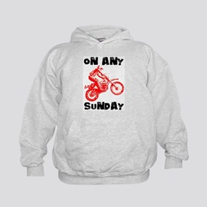 ON ANY SUNDAY Kids Hoodie