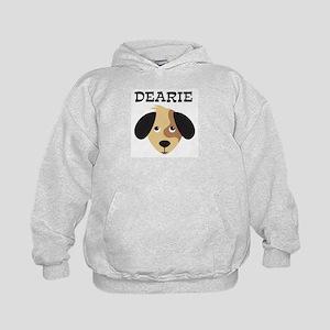 DEARIE (dog) Kids Hoodie