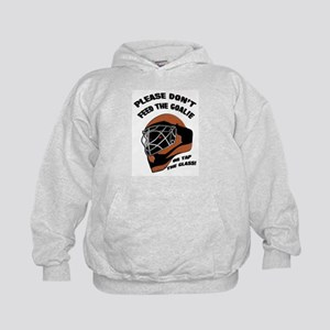 Don't Feed the Goalie Kids Hoodie