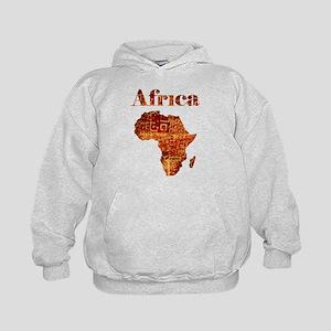 Ethnic Africa Kids Hoodie