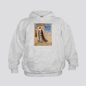 The White Cat Vintage Book Co Kids Hoodie