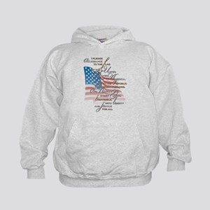US Pledge - Kids Hoodie