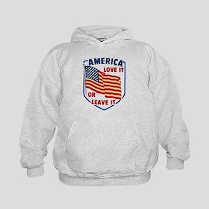 America Love it Hoodie