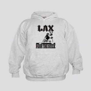 LAX Fear The Stick Kids Hoodie