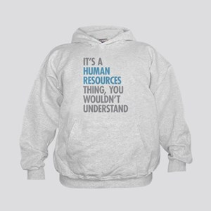 Human Resources Thing Kids Hoodie